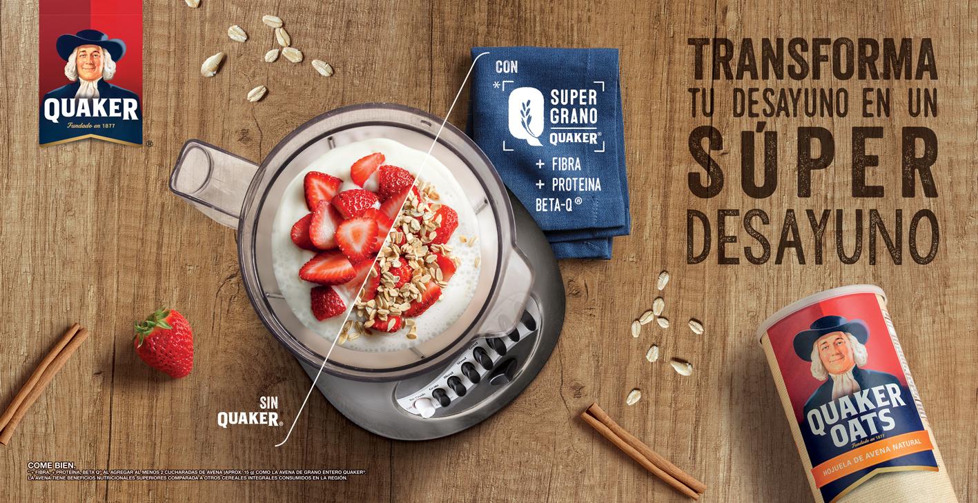 Transforma tu desayuno en un Súper Desayuno.